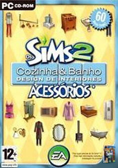 Capa Os Sims 2 Cozinha & Banho Design de Interiores.jpg