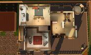 Domicílio de Luxo, primeiro andar
