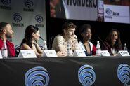 WonderCon 2018 Panel Ian Verdun, Eline Powell, Alex Roe, Sibongile Mlambo, Emily Whitesell