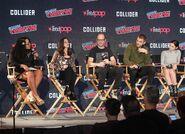 NYCC 2017 Panel Ariana Romero, Emily Whitesell, Eric Wald, Alex Roe, Eline Powell