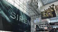 Siren Banner at NYCC 5-10-17