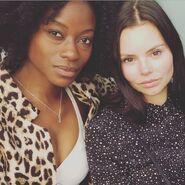 BTS Sibongile Mlambo and Eline Powell 7-27-17