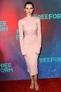 Freeform 2017 Upfronts NY Eline Powell
