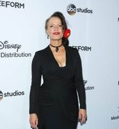 ABC International Upfronts LA 2017 Rena Owen