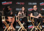NYCC 2017 Panel Ariana Romero, Emily Whitesell and Eric Wald