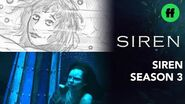 "Siren From Storyboard to Scene Season 3, Episode 8 ""'Til Death Do Us Part"" Freeform"