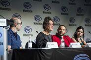 WonderCon 2018 Panel Eric Wald, Rena Owen, Ian Verdun, Eline Powell