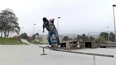 Slow-Motion Feeble to Backside Smith Grind
