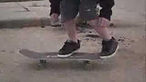 Skateboarding Varial Kickflip