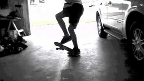 Clean double heelflip