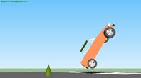 Flight of the car
