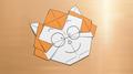 Switch's Origami monkey