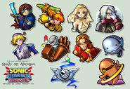 Skies of Arcadia stickers