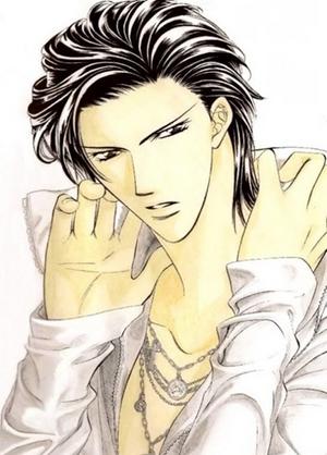 Ren Tsuruga in manga colored.png