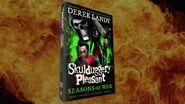Skulduggery Pleasant Seasons of War Derek Landy book trailer