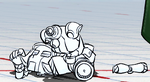 Robo-Fortune fotograma Pose de Time Out