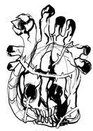 Skullheart sketch