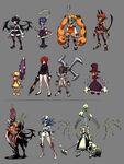 Skullgirls lineup 1