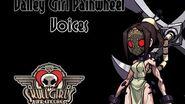 Skullgirls Valley Girl Painwheel Voices