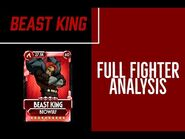 Skullgirls Mobile - Full Fighter Analysis- Beast King
