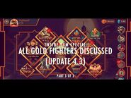 Skullgirls Mobile - Inside SGM Special- All Gold Fighters Discussed (Update 4