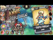 Fighter Reveal- Annie - TRIPLE THREAT - Skullgirls Mobile