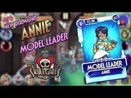 Fighter Reveal- Annie - MODEL LEADER - Skullgirls Mobile