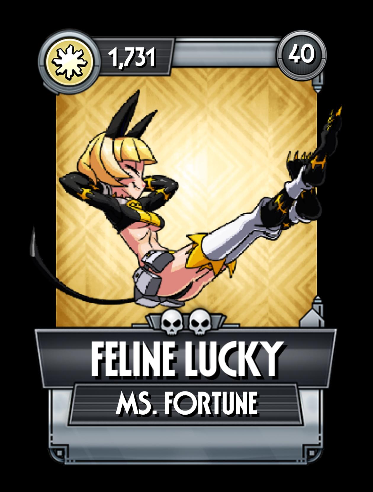 Feline Lucky