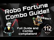 Robo Fortune Combo Guide and Combo Compilataion!! 100 Subcriber Special!!🎉🎉 - SkullGirls Mobile