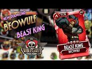Fighter Reveal- Beowulf - BEAST KING - Skullgirls Mobile