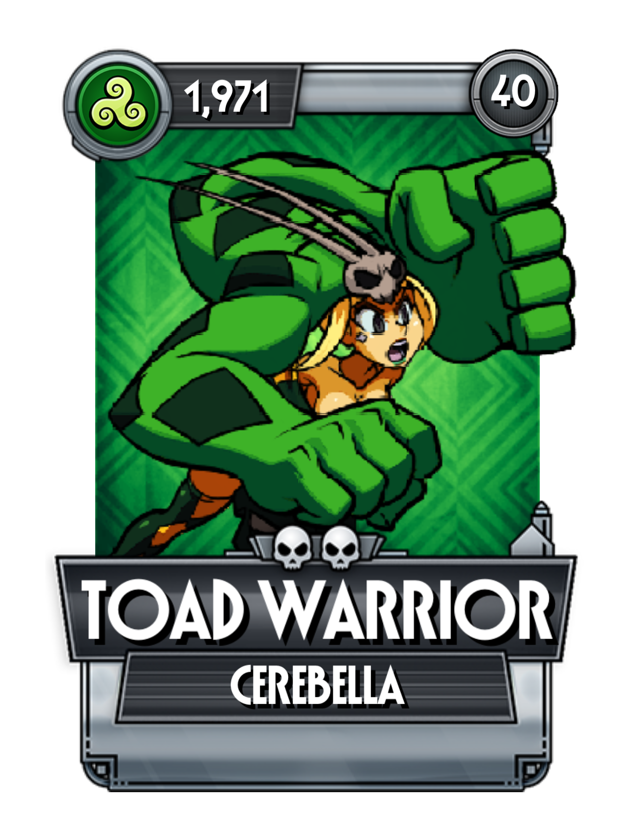 Toad Warrior