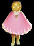 Ascended pink cape