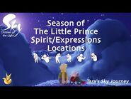 Season of The Little Prince- All Spirit Locations - Sky- Children of the Light