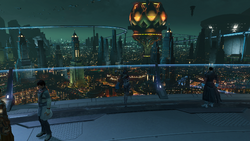 Skyforge view from Reserach Center