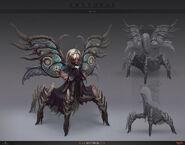 Auria the mantide queen by ilyabodaykin-dalus57