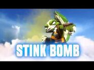 Skylanders- Swap Force - Stink Bomb Soul Gem Preview (Clear the Air)