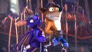 Crash Bandicoot Con Spyro 2