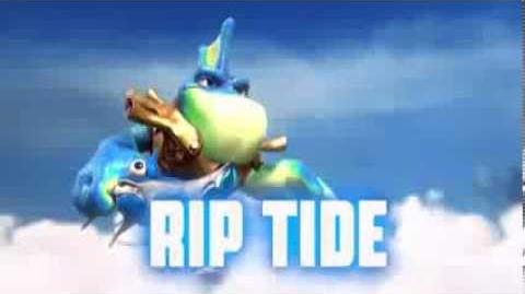 Skylanders Swap Force - Rip Tide Soul Gem Preview (Go Fish)