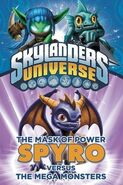 American cover of Spyro and the Mega-Monsters