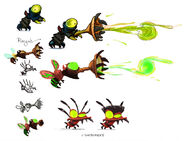 Snot Snatchers and Flea Jumper concepts