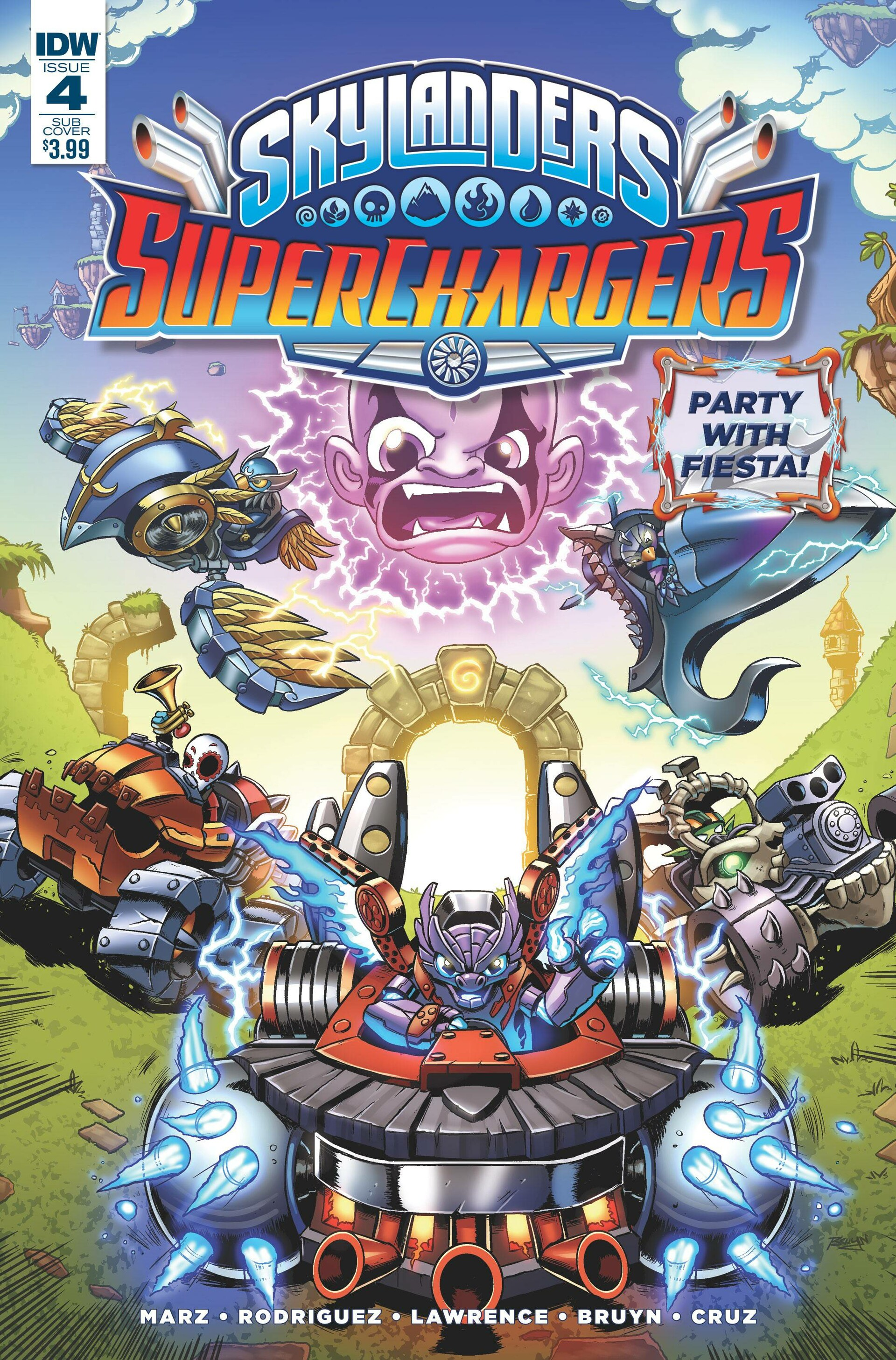 SuperChargers Issue 4