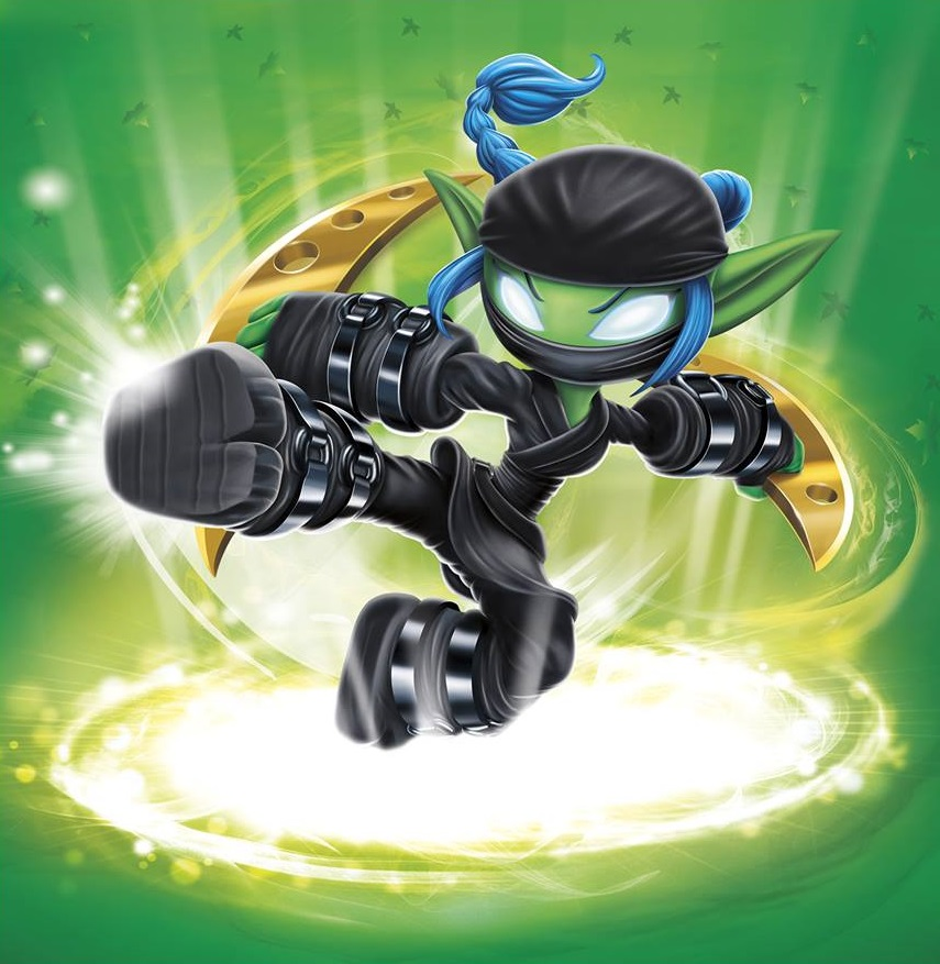 Stealth Elf Skylanders Giants Stat Card Only!