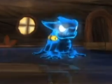 Dragón de agua malvado