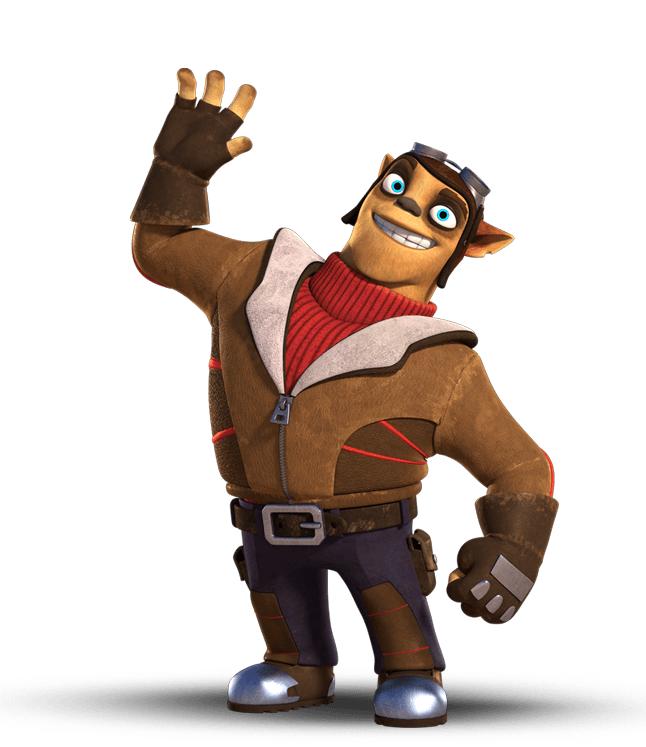 Flynn (Skylanders Academy)