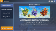 RoH Shattered Island Blurb