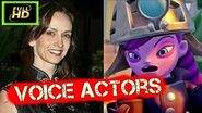 Skylanders Superchargers Characters and Voice Actors Cutscenes