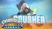 Meet the Skylanders Crusher l Skylanders Giants l Skylanders