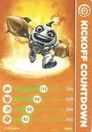 Kickoff Countdown Card