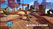 Skylanders Swap Force - Meet the Skylanders - Rubble Rouser (Brace for Impact)