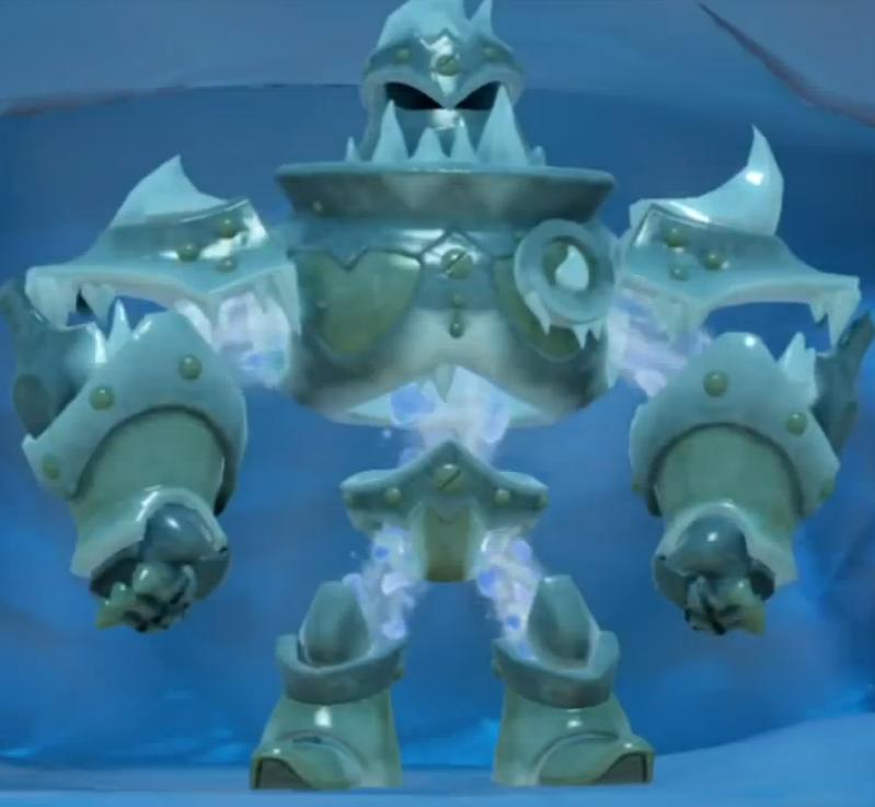 Ice Geargolems